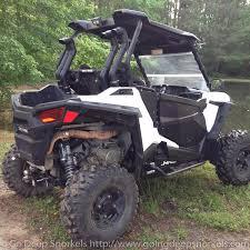homemade jeep snorkel polaris rzr 900 2015 2017 snorkel kit side mounted go deep
