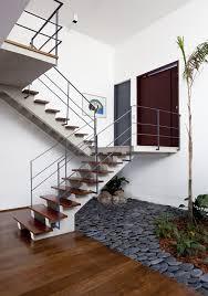 Interior Garden House Renovated 1970 U0027s Townhouse In São Paulo With Inspired Indoor Garden