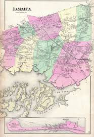 Map Of Queens New York by File 1873 Beers Map Of Jamaica Queens New York City