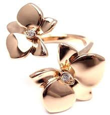 chambres d hotes finist鑽e cartier caresse d orchidées gold orchid flower ring