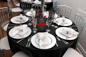 black and white table settings black and white table setting black white table setting wedding