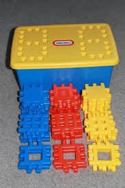 little tikes 36 primary colors wee waffle building blocks set