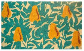 Coco Doormat Pear Tree Design Thick Coir Coco Doormat Coco Mats N U0027 More