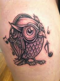 flying tribal owl tattoo design photos pictures and sketches