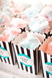 cotton candy party favor sprinkles birthday party ideas cotton candy party treats and
