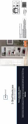 sauder 2 shelf bookcase decoration low white bookshelf sauder 2 shelf bookcase black