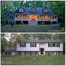 ranch remodel exterior home exterior makeover best design ddf home remodel exterior raised