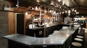 Zinc Top Bar Table Zinc Bar Top With Galvanized Zinc Pipe Shelves Zinc Table Tops