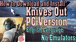 bluestacks knives out how to download and play knives out pc version on windows english