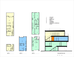 Colored Floor Plans by Gallery Of Freight Residences Dynia Architects 13