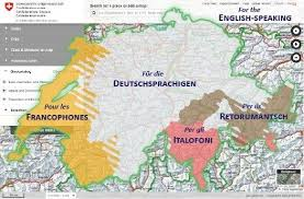 thematic geoportals in map geo admin ch are available in 5 languages