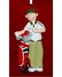 golf ornaments and ornament on