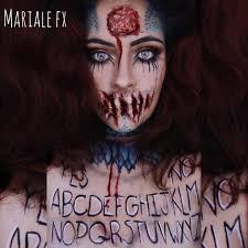 Horror Halloween Makeup by Lima Peru Self Taught Fx Makeup Artist Marialemaquillaje08 Gmail