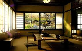 japanese living rooms wooden low profilebed feat white bedding