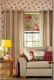 Striped Linen Curtains Next Raspberry U0026 Green Woven Stripe Linen Look Eyelet Curtains