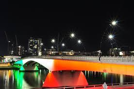 free images light bridge city cityscape evening