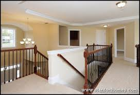 Foyer Stairs Design Raleigh New Home Floor Plan Design Trends Overlook Staircases