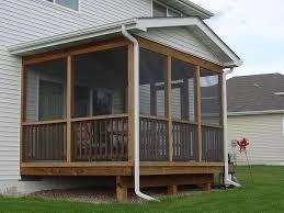 amazing ideas of screen porch plans simple screen porch plans