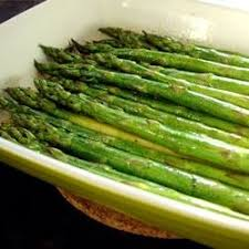 baked asparagus with balsamic butter sauce recipe allrecipes