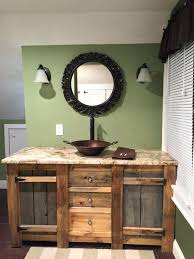 Barnwood Bathroom Vanity Barnwood Bathroom Vanities Socielle Co