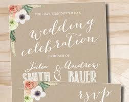 kraft paper wedding invitations vintage tree swing lovebirds kraft paper wedding invitation