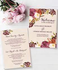 create your own wedding program easy diy wedding itinerary create your own wedding itinerary with
