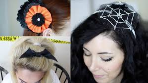 easy diy halloween hair accessories with roxyrockstv and nicole