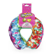 Kids Travel Pillow images Travel neck pillow for kids shopkins rainbow multi colored jpg