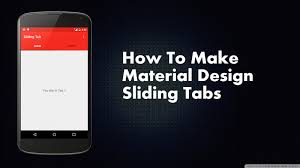table layout material design android how to make material design sliding tabs android for devs