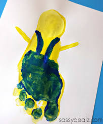 thanksgiving footprint crafts minion footprint craft for kids despicable me crafty morning