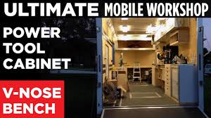 ultimate mobile workshop part 2 v nose workbench power tool