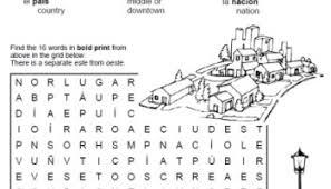 people and activities u2013 printable spanish