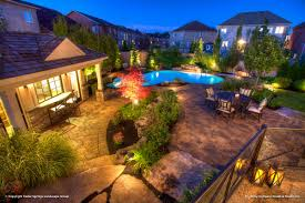 Pool Landscape Lighting Ideas The Luxurious Landscape Lighting Ideas Around Pool Home Design Ideas