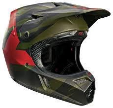camo motocross helmet fox racing v3 marz sd sx15 le helmet size md only revzilla