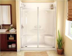 Bathroom Shower Stalls With Seat One Acrylic Shower Lifeunscriptedphoto Co