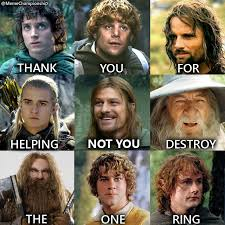 Lord Of The Ring Memes - thank you lord of the rings album on imgur
