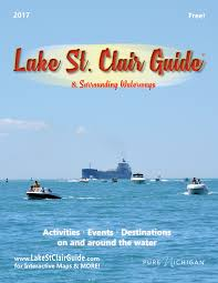 Maps Of Macomb County Michigan And Locals And Locations by Lake St Clair Guide Magazine Boat Fish Eat Events Maps Rentals