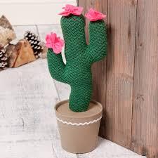 cactus fabric door stop by dibor notonthehighstreet com
