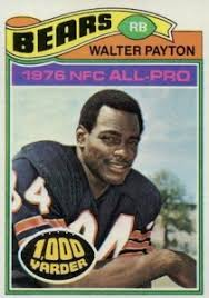 top 10 walter payton cards of all time