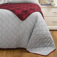 max studio buffalo check reversible quilt full queen save 29