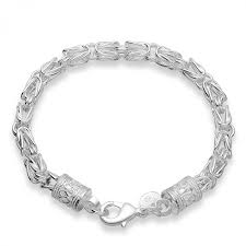 s charm bracelet 2017 fashion charm bracelets for men silver plated bracelet bangle