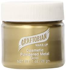 amazon com graftobian powdered metal gold 1 oz health