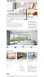 website design 53665 blue wave hotel custom website design blue
