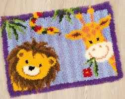 lion and giraffe latch hook rug latch hooks i u0027ve done or would