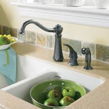 Moen Kitchen Sink Faucet Moen 7065csl Vestige Single Handle Kitchen Faucet With Side Spray
