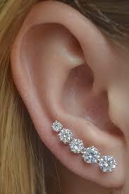 studs for ears 50 ear pin earring safety pin piercings cat earring ear studs