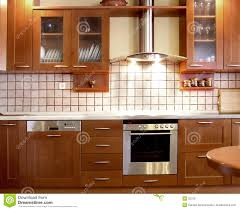 Kitchen Design Com Cherry Kitchen Design Royalty Free Stock Photo Image 32315