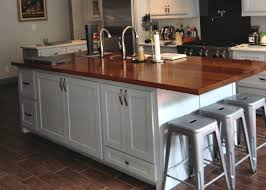 Kitchen Sink Island by Furniture Small Kitchen Design With Cozy Waterlox Countertop