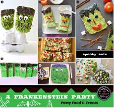 frankenstein themed halloween birthday party fun planning ideas
