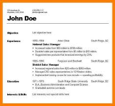 3 Types Of Resumes Download Different Resume Formats Kinds Of Resume Format 28